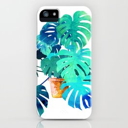Monstera || iPhone Case