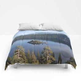 Serenity of Emerald Bay Comforters