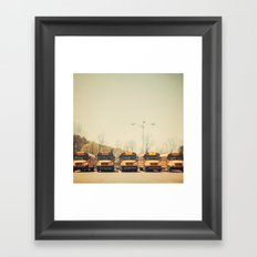 School Days Framed Art Print