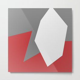 Minimalism Abstract Colors #12 Metal Print