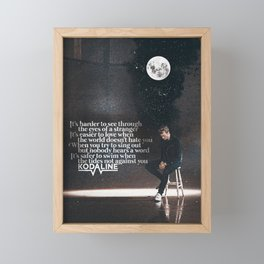 Kodaline - Shed A Tear Framed Mini Art Print