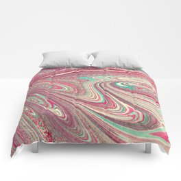 Marble Paper Comforters