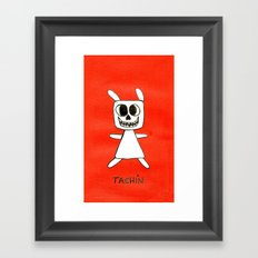 TACHÍN!! Framed Art Print