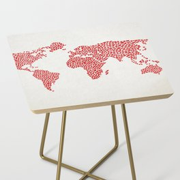 Love, You Are My World Side Table
