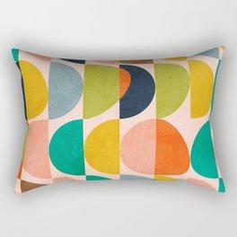 shapes abstract II Rectangular Pillow