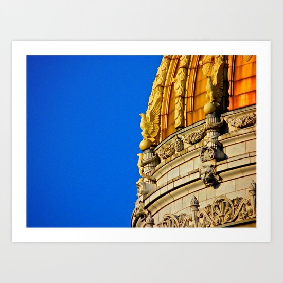 Westmoreland County Courthouse Dome Art Print
