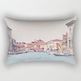 The canal Rectangular Pillow