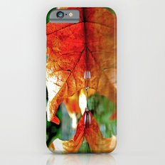 Autumn leaf reflected Slim Case iPhone 6s