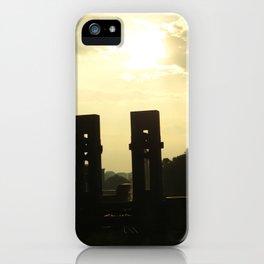 Sunset Memorial iPhone Case