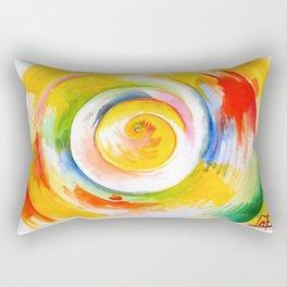 Life Circle Rectangular Pillow