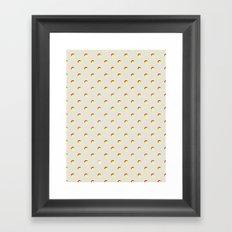 Just Dottie Framed Art Print