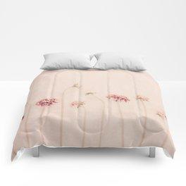 Cameo pink Comforters