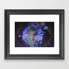 The Memory part III: Cracks Framed Art Print