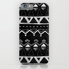 Black and White Pattern iPhone 6s Slim Case