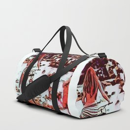 End Of Summer Duffle Bag
