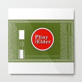 Pliny the Elder Metal Print