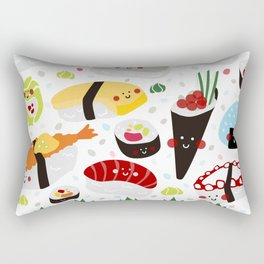 Sushi galore Rectangular Pillow