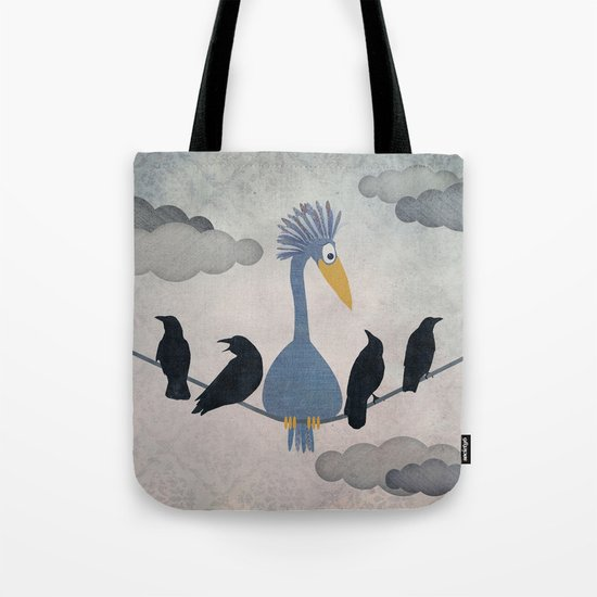 """For """"The Birds"""" Tote Bag"""