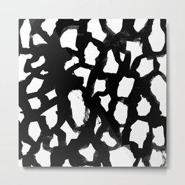 Elia - abstract painting minimal modern art print home decor must haves Metal Print