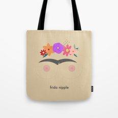 Frida Nipple Tote Bag