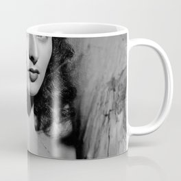 Italian Starlet Actress Elena Maureen Bertolini Hollywood black and white photography - photographs Coffee Mug