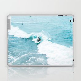 Wave Surfer Turquoise Laptop & iPad Skin