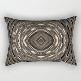 Architectural abstract in four-way symmetry of the Broad, Los Angeles, California Rectangular Pillow