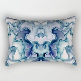 Abstract graphic mirror 8 Rectangular Pillow
