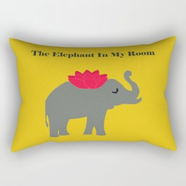 The Elephant in my room Rectangular Pillow