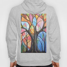 Abstract Art Landscape Original Painting ... Colors of the Wind Hoody