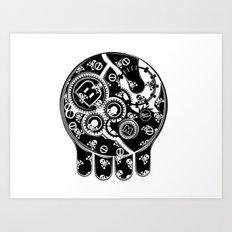 Time Bomb (Inverted) Art Print