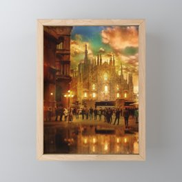 Milan Cathedral Framed Mini Art Print