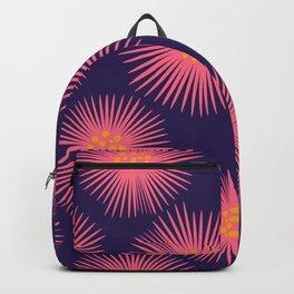 My Flowers Glow (Blue) Backpack