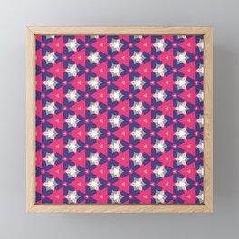 Abstract Fest Pattern 06 Framed Mini Art Print
