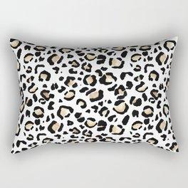 Leopard Animal Print Watercolour Painting Rectangular Pillow