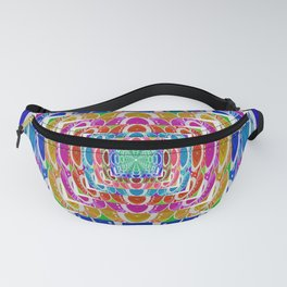 Retro Chromatic Psychedelic Classic Fanny Pack
