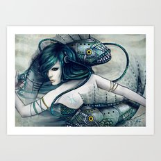 Zodiac Sign: Pisces Art Print