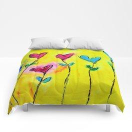 Amor de colores Comforters