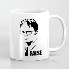 False funny office sarcastic quote Coffee Mug