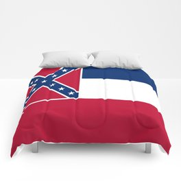 Flag of mississippi-flag of mississippi,south,Mississippian,usa, america,jackson,gulfport,Southaven Comforters