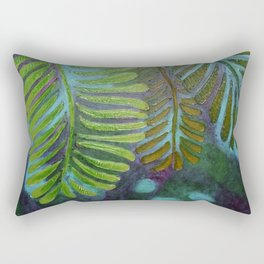 Three Leaves Rectangular Pillow