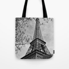 Half a Eiffel Tower Tote Bag