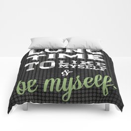 Childish Gambino Quote V.2 Comforters