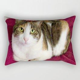 Antigone romantic kitty Rectangular Pillow