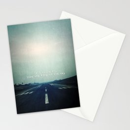 If I could fly Stationery Cards