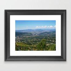 Steamboat Springs Framed Art Print