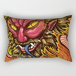 Zhulong Dragon Rectangular Pillow