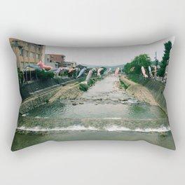 Koi Flags Rectangular Pillow