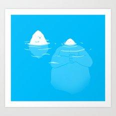 The Tip Of The Iceberg Art Print