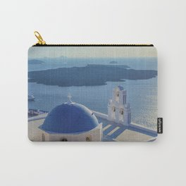 Santorini Island, Greece Carry-All Pouch